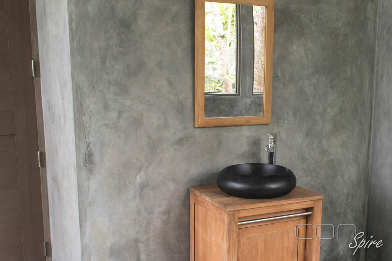 Terrazzo Sink Black Round Indonesia