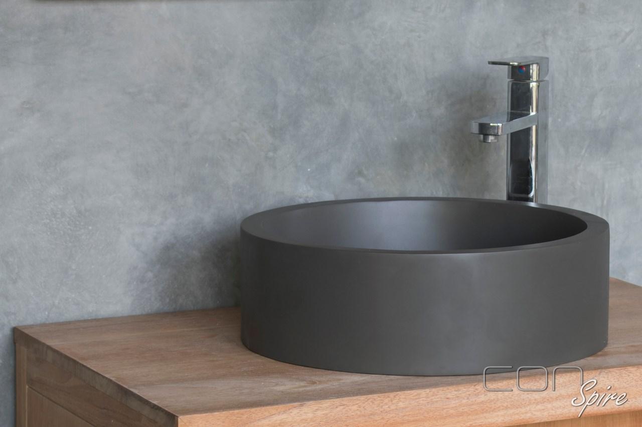 Cement Sink Dark Grey Yogyakarta