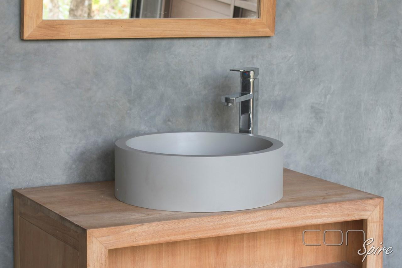 Cement Sink Light Grey Yogyakarta