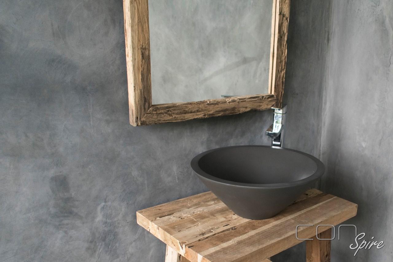 Cement Sink Cone Dark Grey Indonesia