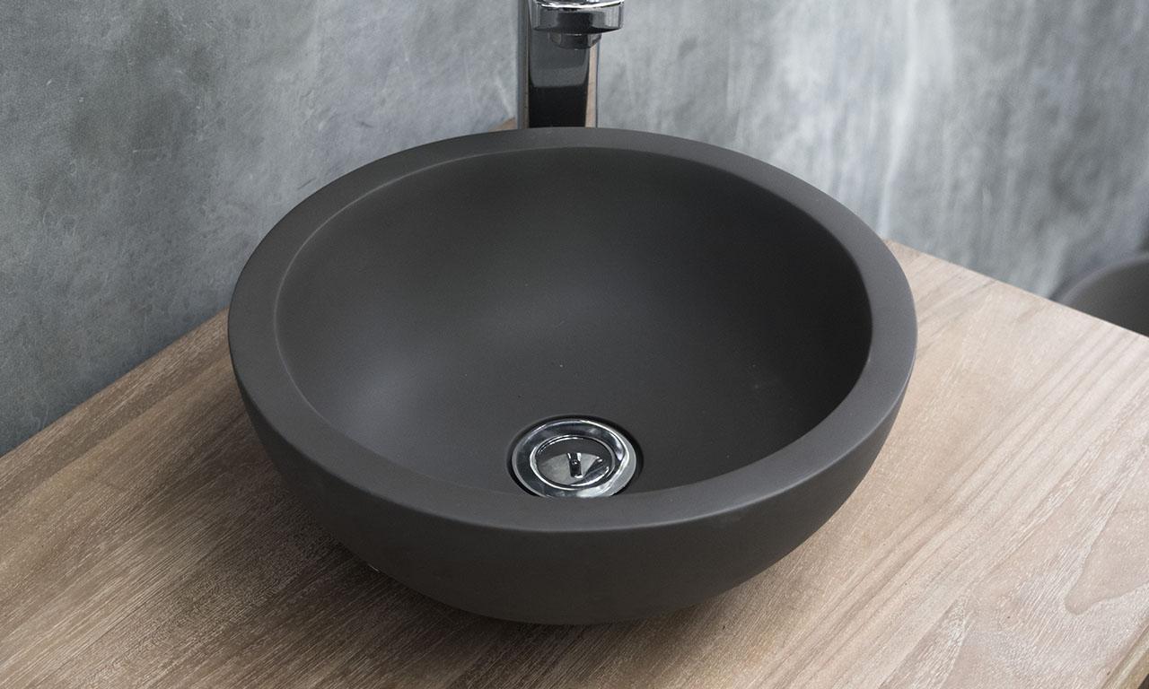 Cement Bathroom Basin