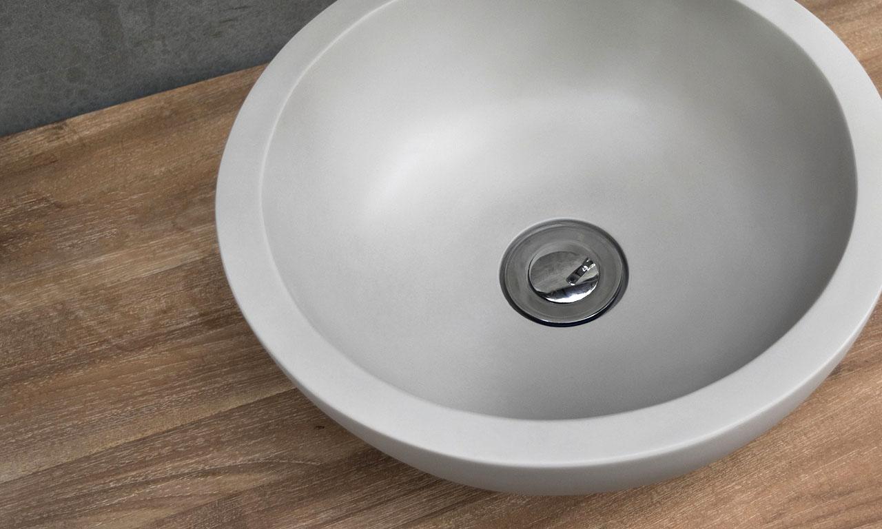 ConSpire Industrial Design Concrete Bathroom Sink