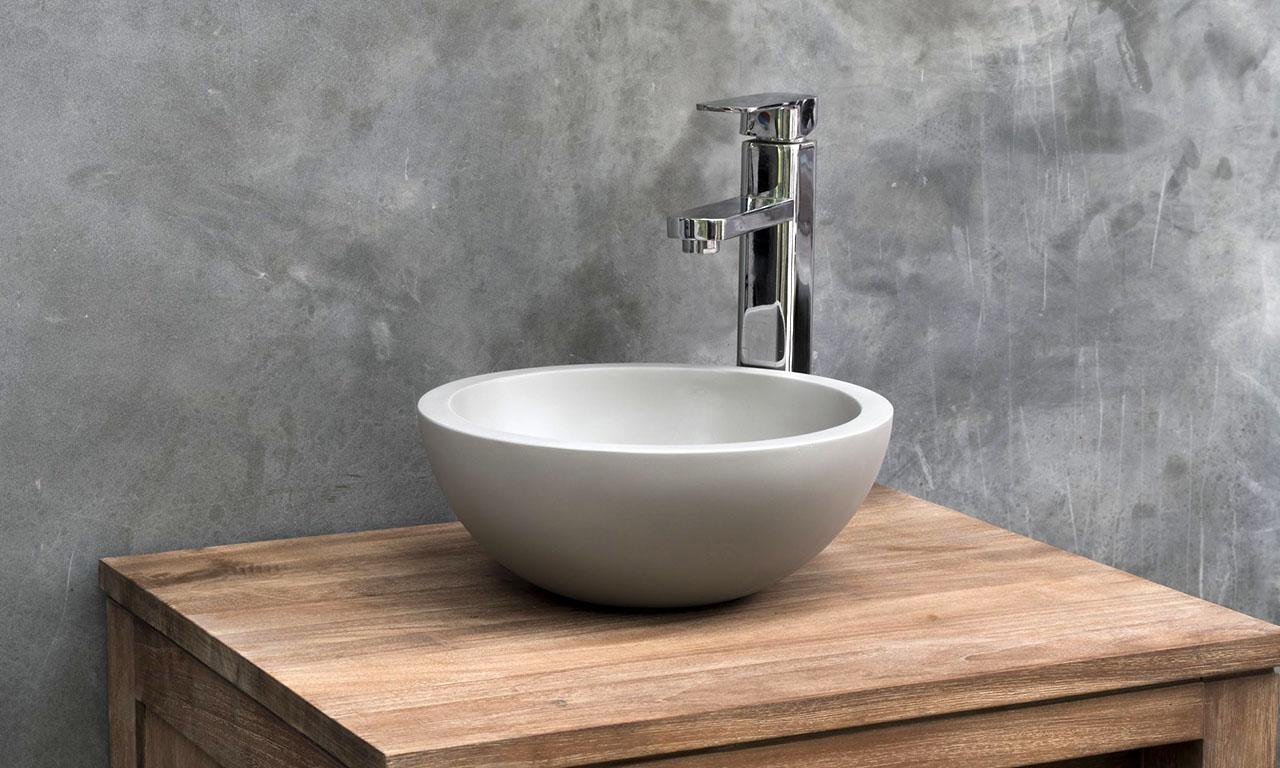 ConSpire Industrial Design Concrete Bathroom Basin