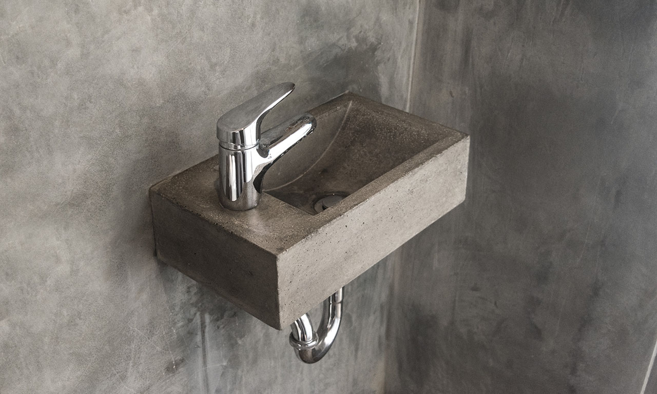 Cement Bathroom Sink