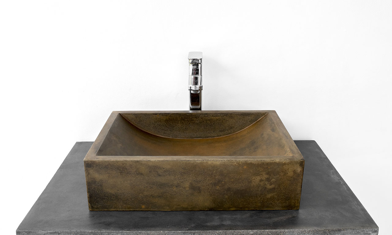 ConSpire Industrial Design Concrete Bathroom Sink