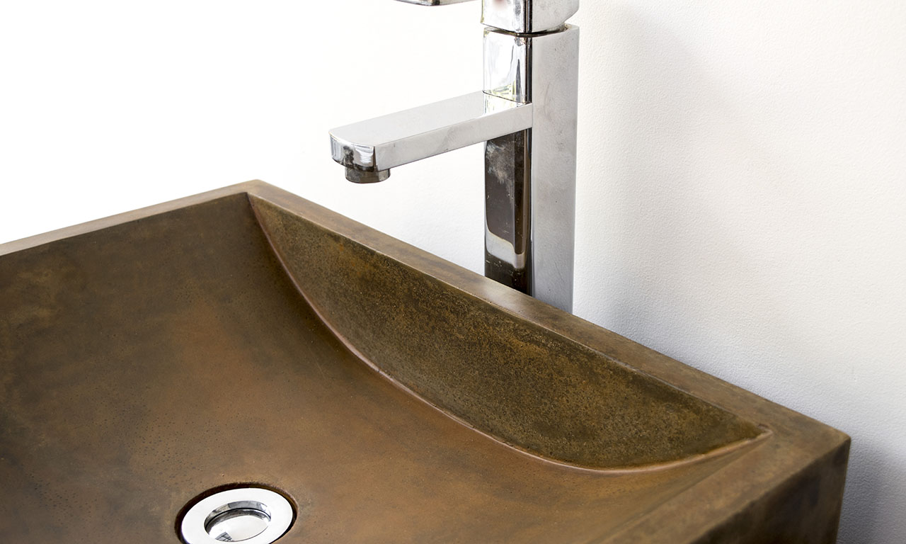 ConSpire Industrial Design Concrete Bathroom Basin