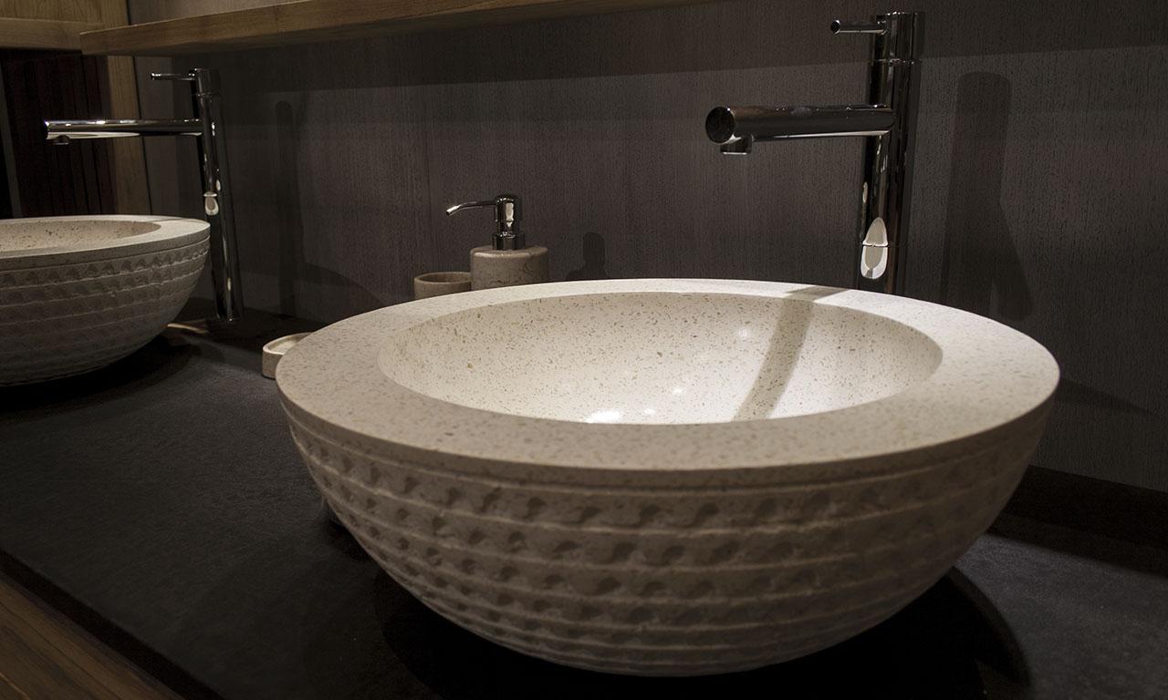 Terrazzo Bathroom Washbowl