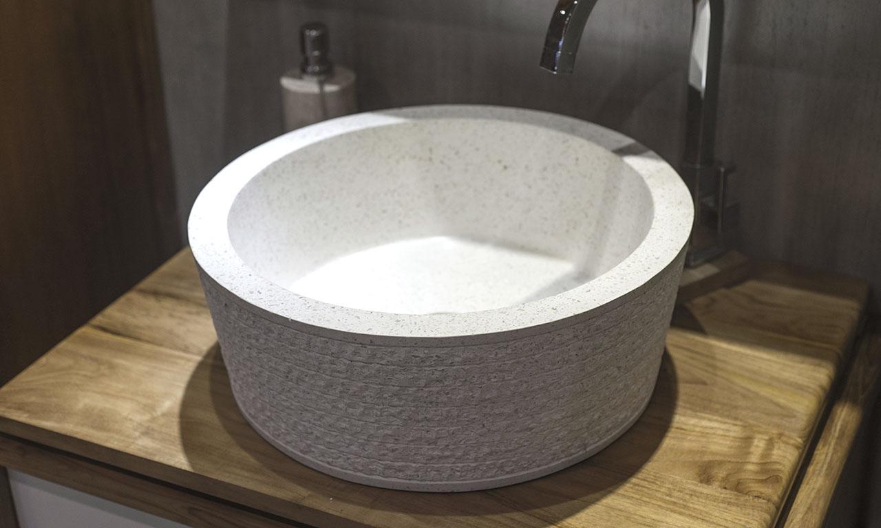 Terrazzo Bathroom Sink