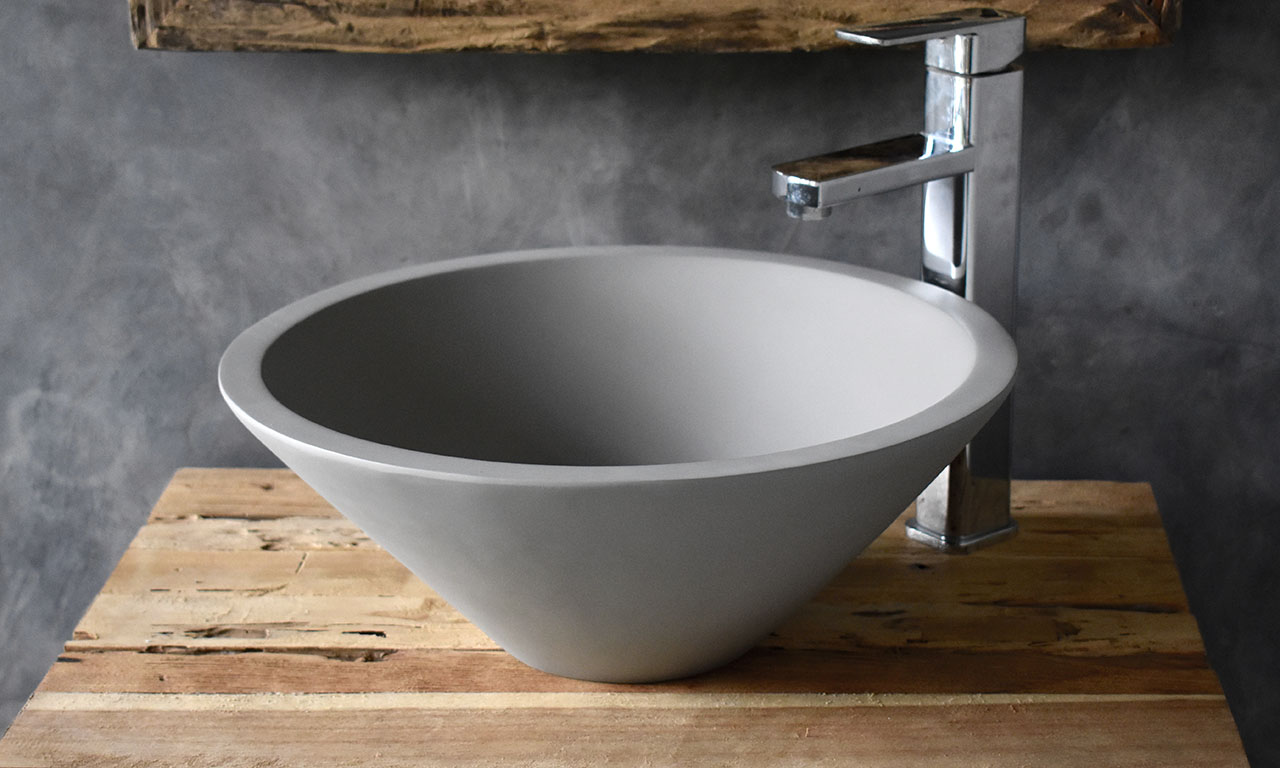 ConSpire Modern Design Concrete Bathroom Washbowl