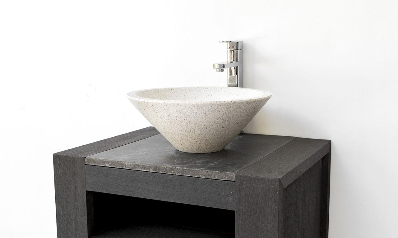 ConSpire Modern Design Terrazzo Bathroom Basin