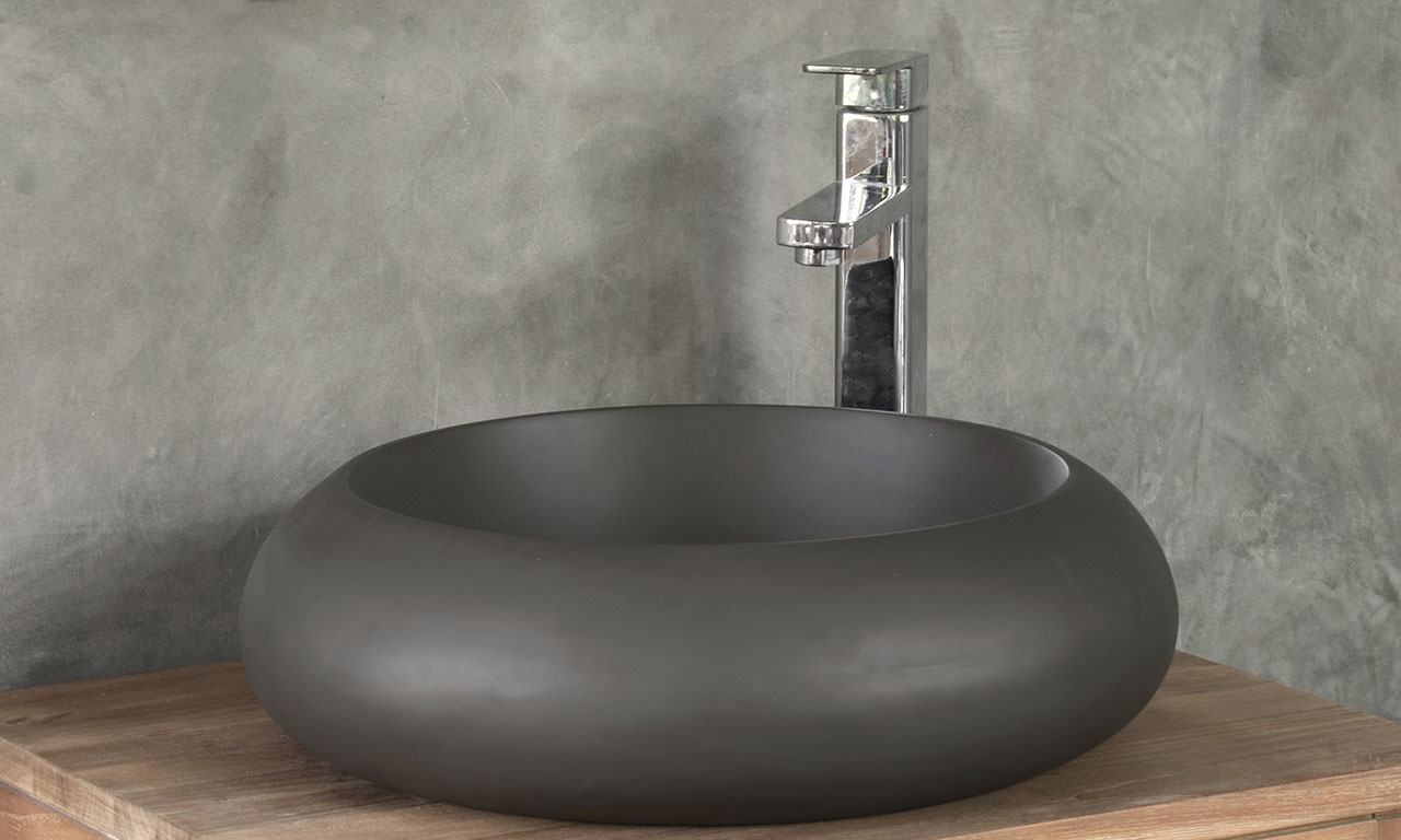 ConSpire Modern Design Concrete Bathroom Sink