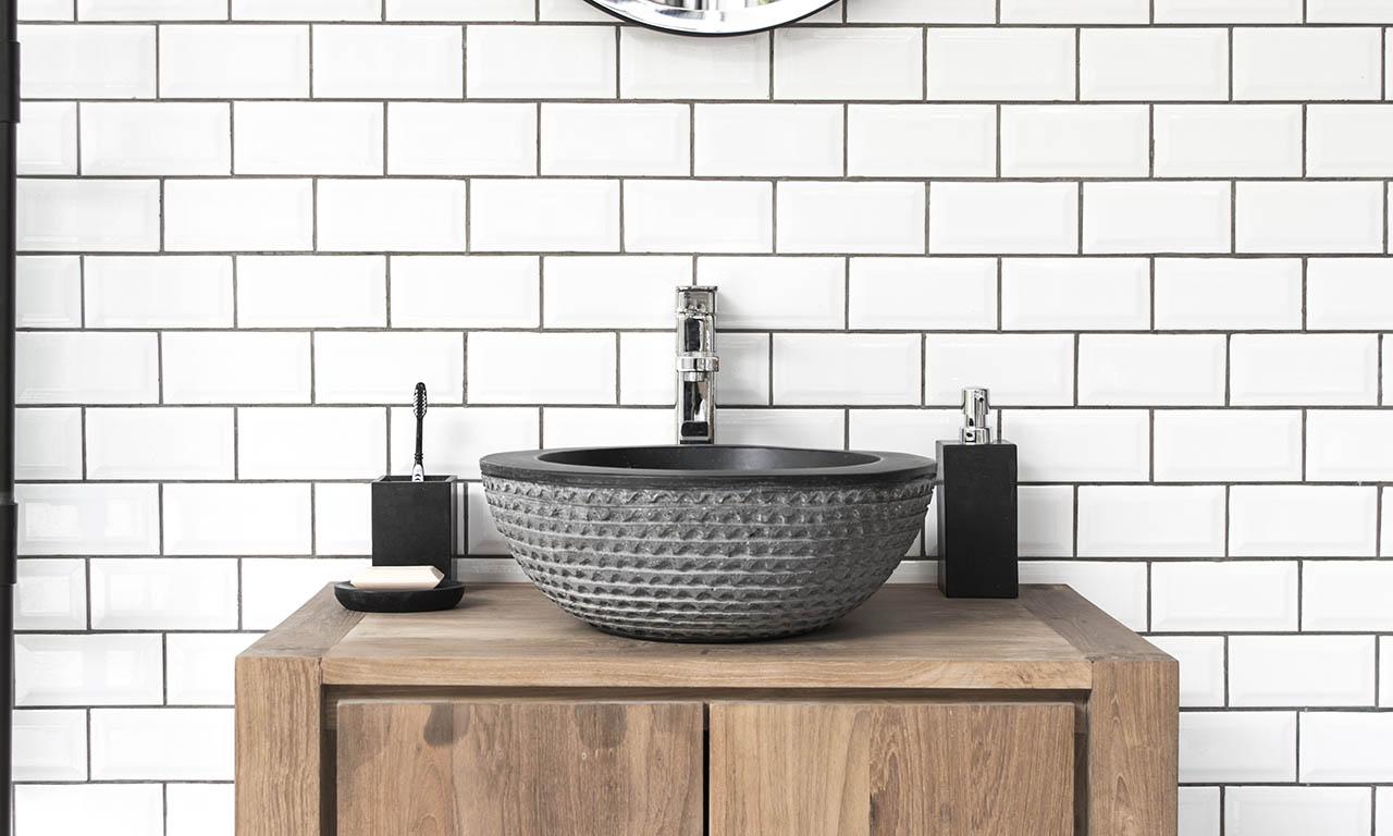 ConSpire Industrial Design Terrazzo Bathroom Washbowl