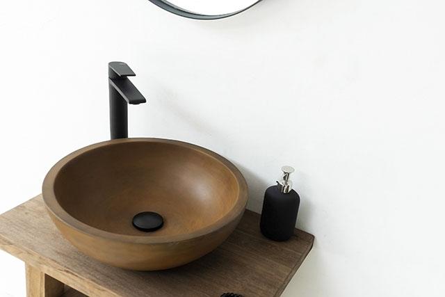 Palermo Light Grey Concrete Basin Sink